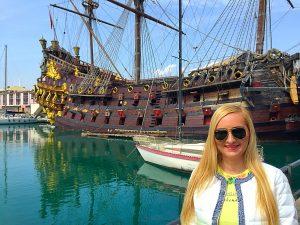 4 Genova , corabia lui Cristofor Columb