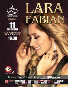 poster Lara Fabian_Craiova