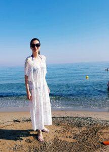 Iuliana in vacanta in Grecia