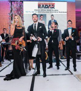 Bianca Dragusanu si Victor Slav - Premiul Special pentru cea mai spectaculoasa revenire in TV