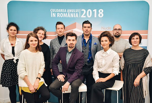 Echipa creativi Culoarea Anului 2018 Romania r