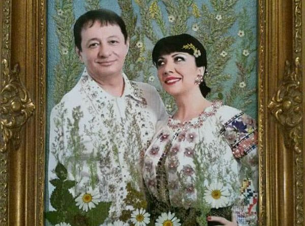 tablou flori alina si romeo r