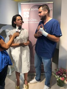 Maria Dinulescu & dr. Khalid Al - Falah