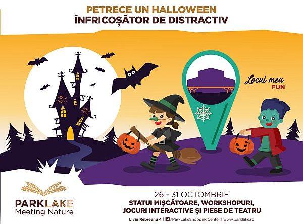Halloween, parke lake