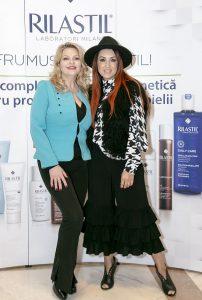 Olga Balan si NICO, Lansarea gamei de dermato cosmetice RILASTIL Italia