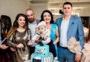 Designerul vedetelor, Andreea Dogaru, totul despre tăierea moțului fiului ei! Ce mare a crescut băiețelul vedetei