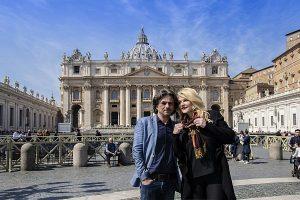 olga balan, dragos zaharia, vatican, italia