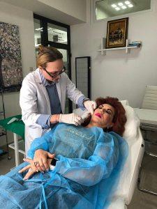 Carmen Harra - dr. Catanas, clarvazatoare