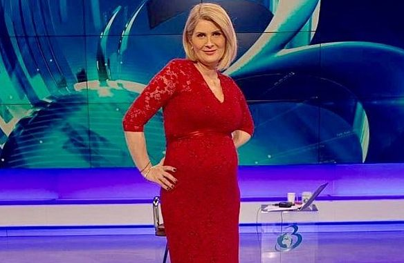alexandra stoicescu, gravida, burta, platou, antena 3