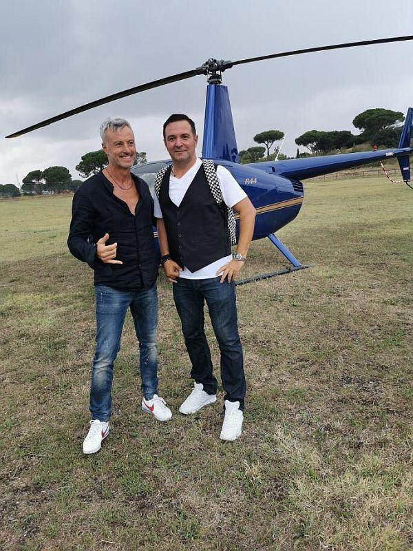 Daniel Buzdugan a zburat cu elicopterul la Roma de ziua lui