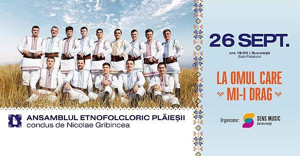 26 septembrie, spectacol folcloric, ansamblul etnofolcloric plaiesii condus de nicolae gribincea