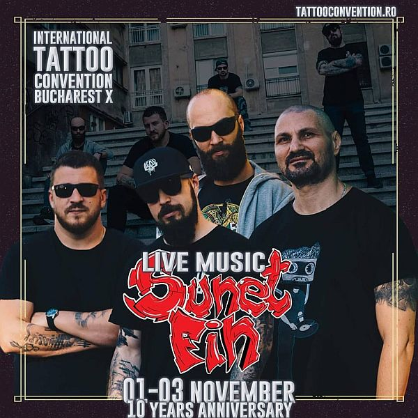 International Tattoo Convention Bucharest, 1-3 noiembrie 2019