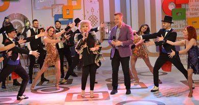 """Corina Chiriac și Adrian Enache fac echipă bună! Din luna martie începe un nou sezon al emisiunii """"Opriți Timpul"""" la Național TV."""