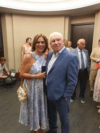 Cornel Tabacaru si sotia lui, ALina