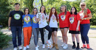 Alexandra Popescu, Miss Capitala 2020 face parte din lotul F.C.Romania